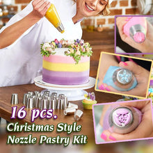 Load image into Gallery viewer, Christmas Style Nozzle Pastry Kit