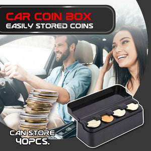 Premium Car Coin Storage Box