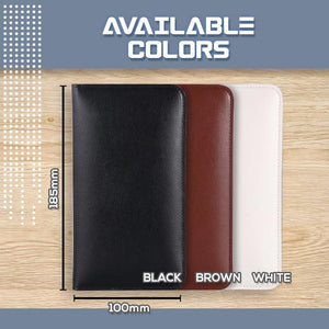 Universal Leather Phone Charging Wallet