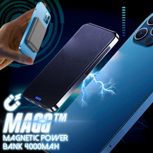 Load image into Gallery viewer, MAGG Wireless Magnetic Power Bank 4000mah