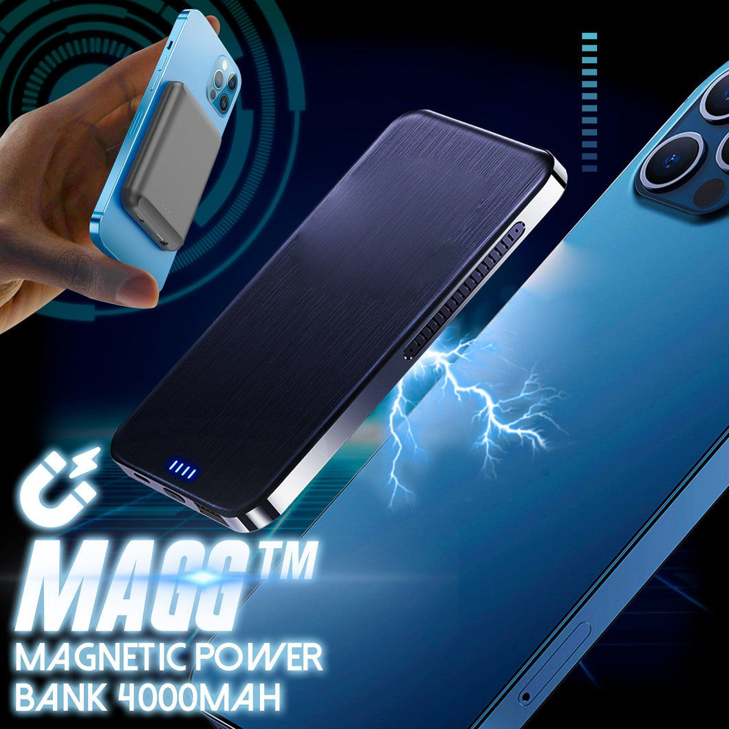 MAGG Wireless Magnetic Power Bank 4000mah