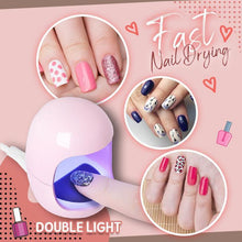 Load image into Gallery viewer, USB Charging Mini Nail Light Therapy Machine