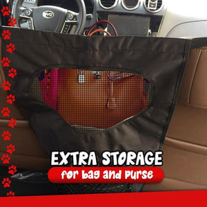 Pet Car Rear Seat Protection Net