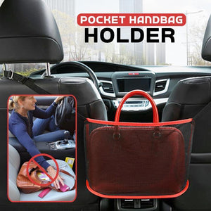 Car Net Pocket Handbag Holder (2pcs)