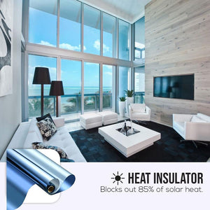 Heat Blocked Privacy Film