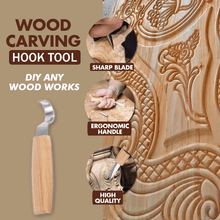 Load image into Gallery viewer, Wood Carving Hook Tools Set