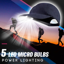 Load image into Gallery viewer, LED Torch Baseball Cap