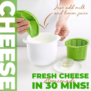 Homemade Microwave Cheese Maker