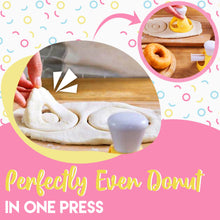 Load image into Gallery viewer, Easy Donut Cutter 2pcs Set
