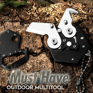 14 in 1 Multifunctional Outdoor Coin Tool