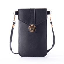 Load image into Gallery viewer, Touchable PU Leather Change Bag