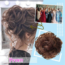 Load image into Gallery viewer, Donut Messy Bun Hairpiece