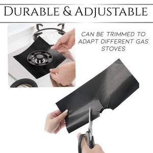 Reusable Foil Stove Cover