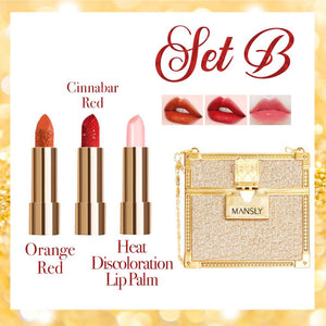 Chain Bag Queen Lipsticks - 3PCS