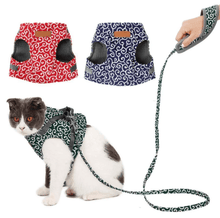 Load image into Gallery viewer, Cat Vest Harness And Walking Leash
