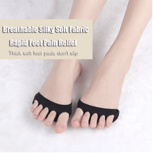 Load image into Gallery viewer, HoneyComb Fabric Forefoot Pads - 3 Pairs
