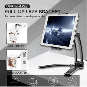 Desktop And Wall Pull-Up Lazy Bracket