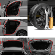 Load image into Gallery viewer, Auto Seal Car Door Rubber Strips