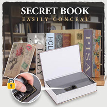 Load image into Gallery viewer, Hidden Secret Book Safe Box