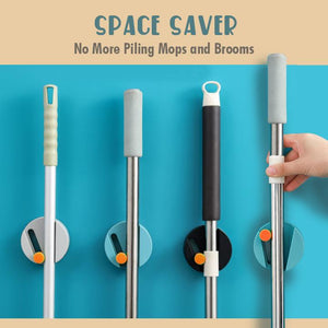Seamless Mop Storage Holders