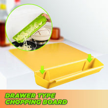 Load image into Gallery viewer, Creative Drawer Type Chopping Board