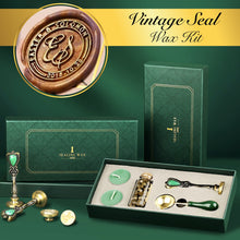 Load image into Gallery viewer, Vintage Seal Wax Kit