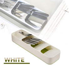 Load image into Gallery viewer, Compact Kitchen Cutlery Organizer
