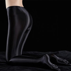 Satin GLOSSY OPAQUE Yoga Leggings
