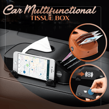 Load image into Gallery viewer, Car Multifunctional Tissue Box
