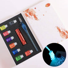 Load image into Gallery viewer, Crystal Glass Pen 1688 Blue Premium UV Set