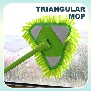 Extendable Triangle Microfiber Mop 1688