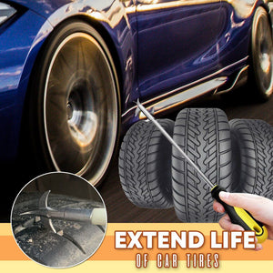 Car Tire Cleaning Stone Remover