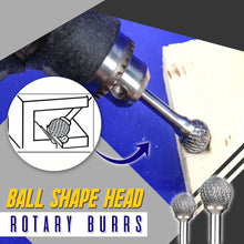 Load image into Gallery viewer, Ball End Double Cut Rotary Burrs File