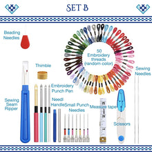 Load image into Gallery viewer, Pop Magic Embroidery Needle Kit harmoninie Set B