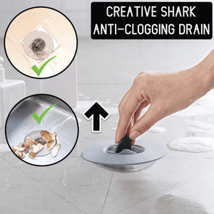 Creative Shark Anti-Clogging Drain - 3PCS