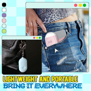 Self Defense Personal Alarm Keychain 1688