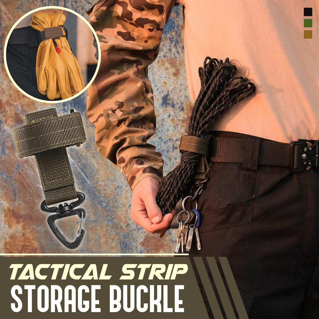 Tactical Strip Storage Buckle 1688 Green 1PC