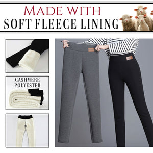 Winter Extra Warm Thick Cashmere Tight Pants 1688