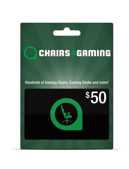 Free $50 gift card with DXRacer purchases!
