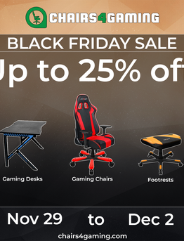 Best Gaming Chairs Black Friday Deals 2019