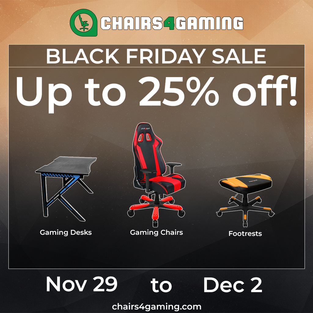 Black Friday Gaming Chairs