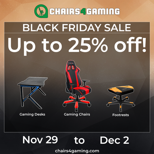 Gaming Chairs Black Friday 2019