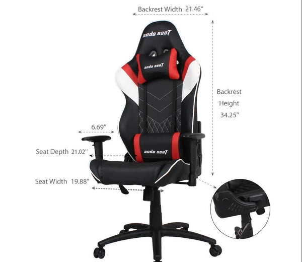 Anda Seat Assassin - Size