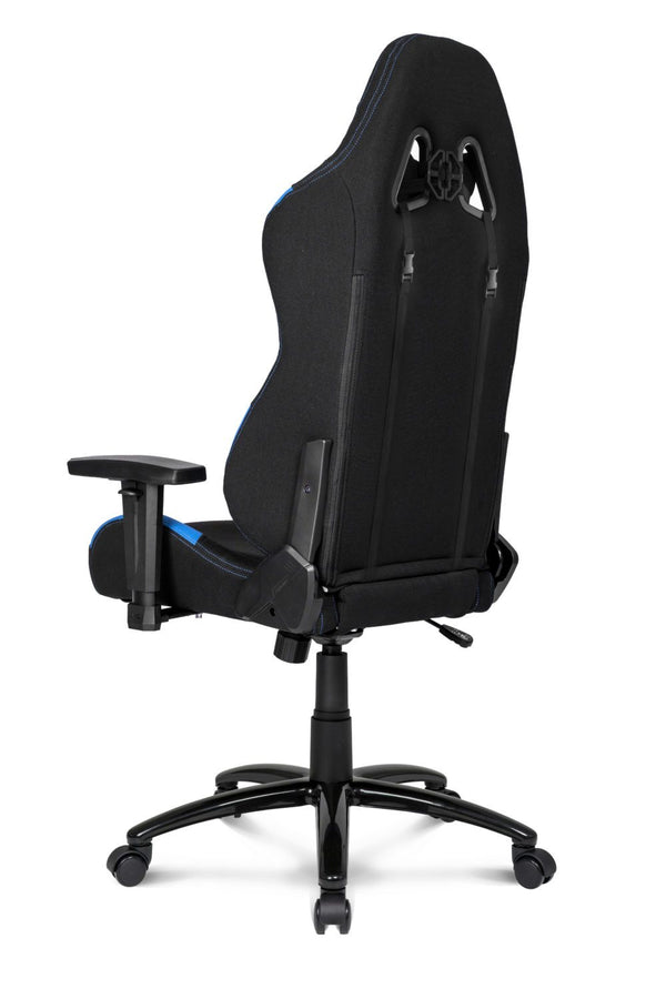 AKRacing EX Black/Blue - Back Angle