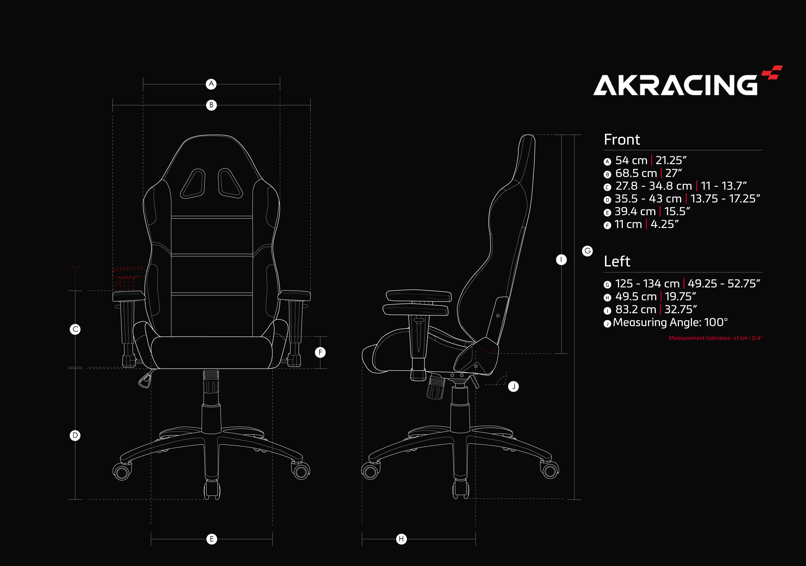 AKRacing EX (Black)