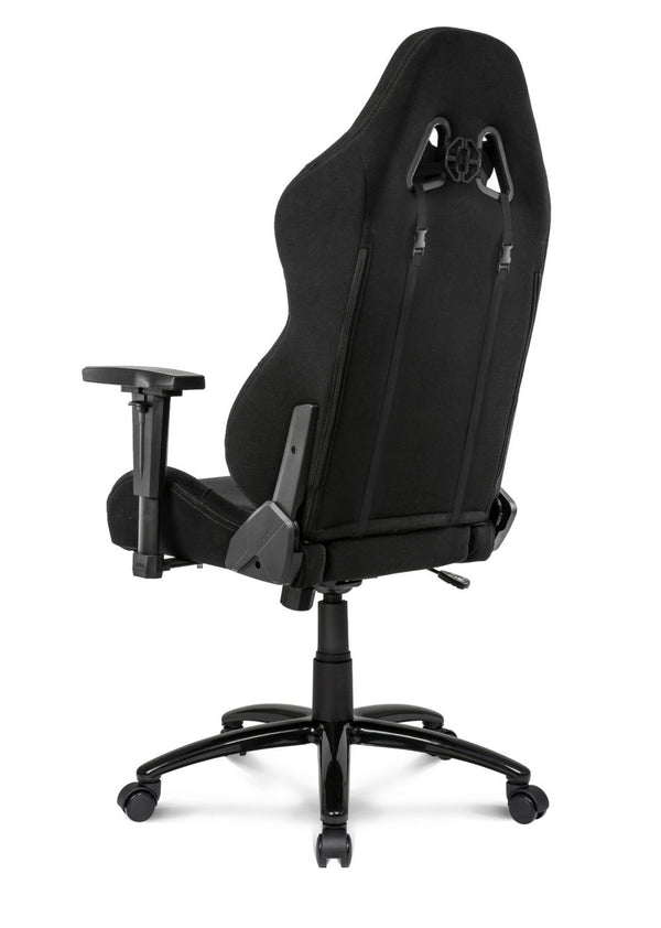 AKRacing EX-Wide Black - Back Angle