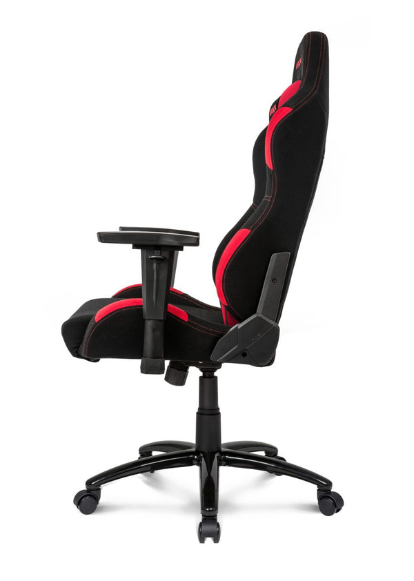 AKRacing EX-Wide Black/Red - Side