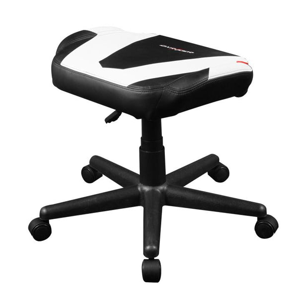 DXRacer Footrest White - Side