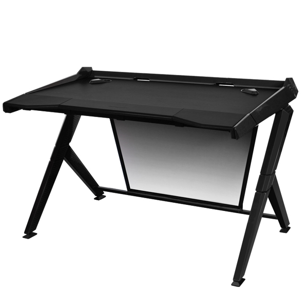 DXRacer Gaming Desk Black - Angle