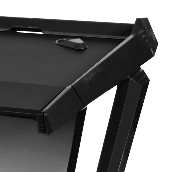 DXRacer Gaming Desk Black - Wire Management
